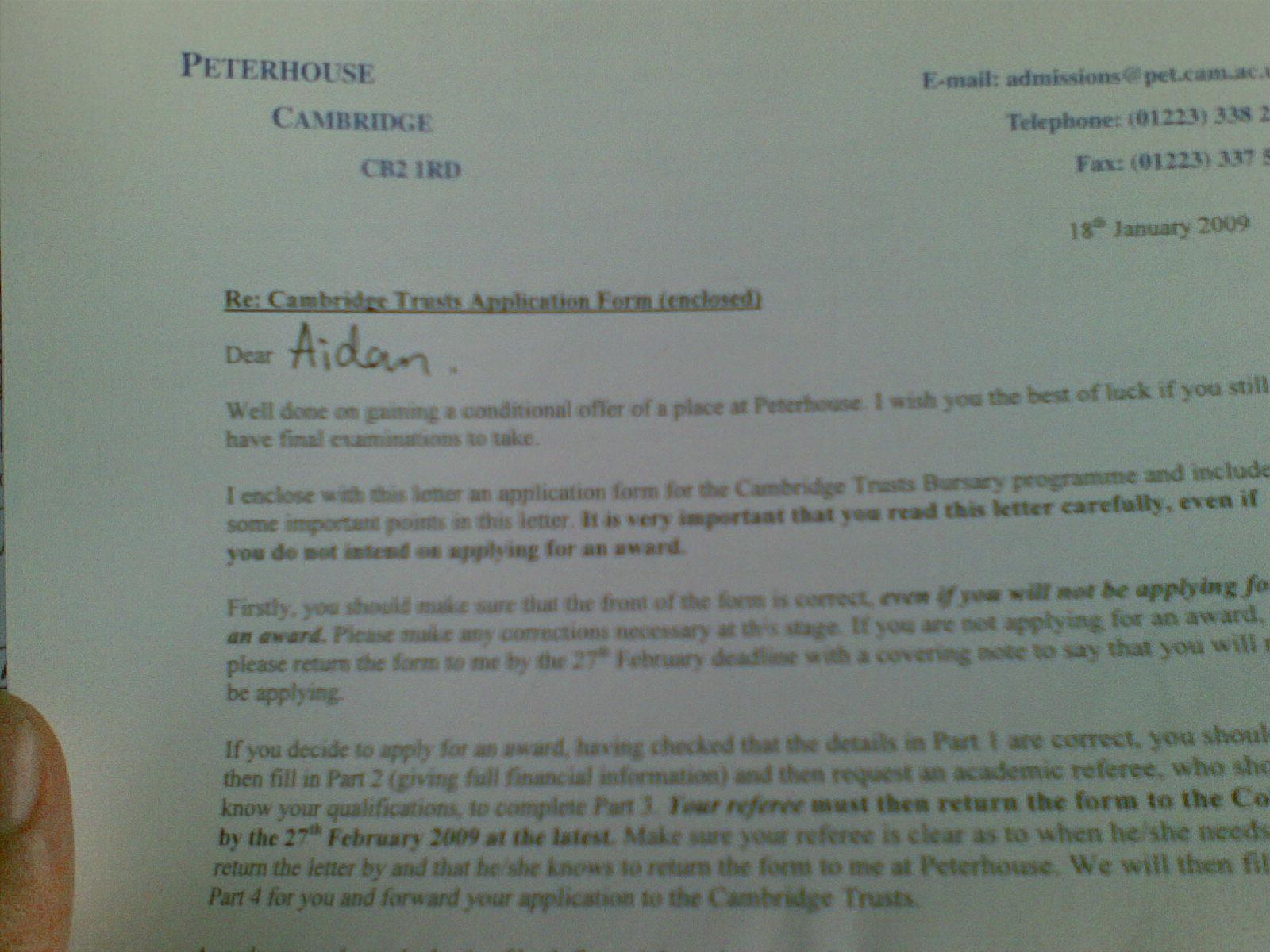 motivational letter for bursary for undergraduates.